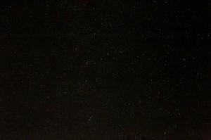 明日 秋の星空
