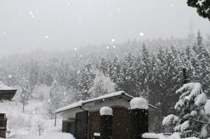 法福寺 雪景色