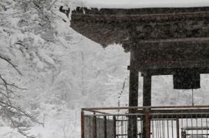 法福寺 冬の鐘