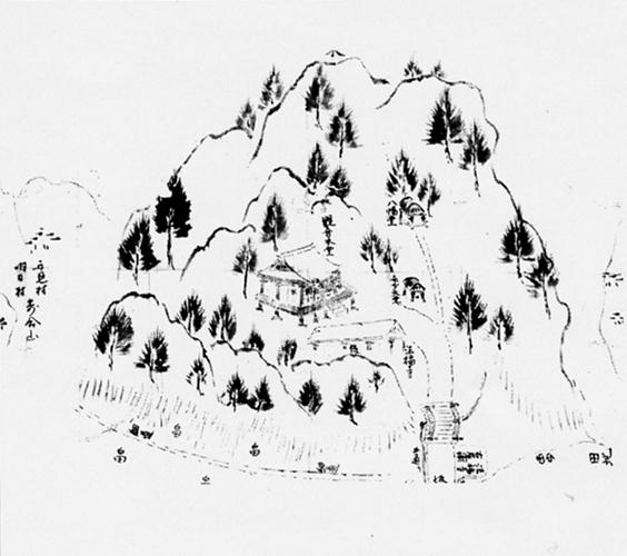 法福寺拝領地の絵図